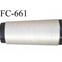 CONE 2000 m de fil invisible polyamide 180 deniers mono filament couleur invisible  longueur de 2000 mètres  bobiné en France