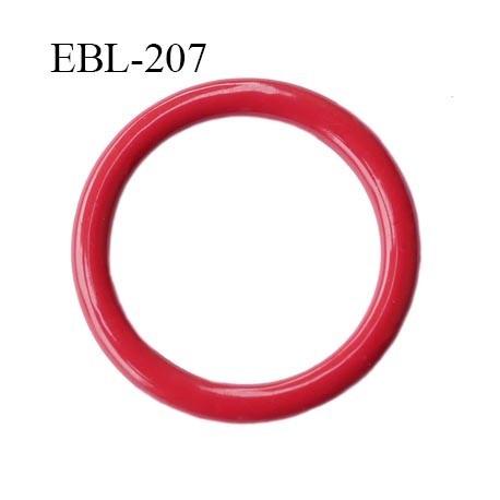 vente en magasin large sélection les ventes chaudes Anneau 8 mm de réglage de bretelle soutien gorge en métal laqué rouge  brillant diamètre intérieur 8 mm diamètre extérieur 11 mm - mercerie-extra