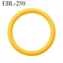 anneau 16 mm en pvc  couleur orange clair diamètre intérieur 16 mm diamètre extérieur 19.5 mm épaisseur 2 mm
