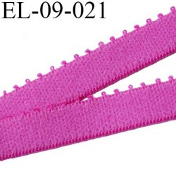 élastique 9 mm bretelle et lingerie couleur pivoine largeur 9 mm haut de gamme prix au mètre