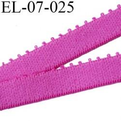 élastique 7 mm bretelle et lingerie couleur pivoine largeur 7 mm haut de gamme prix au mètre