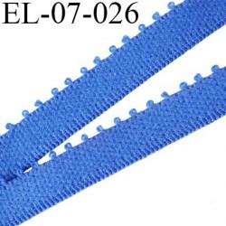 élastique 7 mm bretelle et  lingerie couleur bleu largeur 7 mm haut de gamme prix au mètre