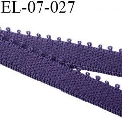 élastique 7 mm bretelle et  lingerie couleur byzance largeur 7 mm haut de gamme prix au mètre