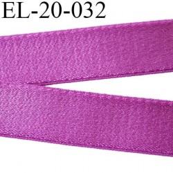 Elastique 20 mm bretelle et lingerie couleur pourpre brillant très beau  élasticité 40 % largeur 20 mm prix au mètre