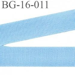 biais sergé 15 mm galon ruban  100 % coton superbe souple et doux  couleur bleu ciel largeur 15 mm prix au mètre