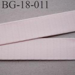 Devant bretelle 18 mm en polyamide attache bretelle rigide  pour anneaux couleur candy ou rose pétale prix au mètre