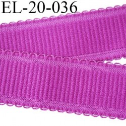 Elastique 20 mm bretelle et lingerie et autre très  belle qualité  40 % d'élasticité couleur pivoine largeur 20