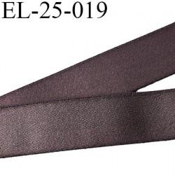 Elastique 24 mm bretelle et lingerie doux et forte élasticité couleur muscade haut de gamme largeur 24 mm prix au mètre
