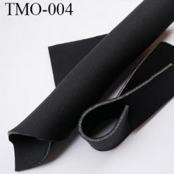 mousse de coque de sg lingerie très haut de gamme couleur noir largeur 145 cm 400 grs au m2  prix pour 10 cm par 145 cm