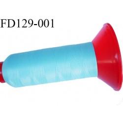 Destockage Cone 2500 m fil mousse polyamide n°120 couleur lagon longueur 2500 mètres  bobiné en France