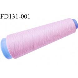 Destockage cone 2000 mètres de fil mousse polyester fil n°120 couleur bleu bobiné en France