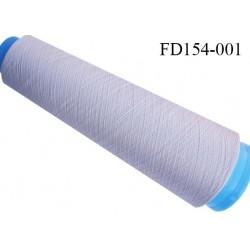 Destockage cone 3000 mètres de fil mousse polyester fil n°120 couleur mastic longueur 3000 m