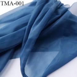 marquisette spécial lingerie haut de gammecouleur bleu largeur 145 cm prix au mètre