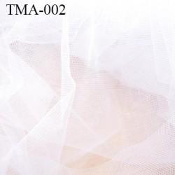marquisette tulle spécial lingerie haut de gamme couleur blanc largeur 145 cm prix pour 10 cm