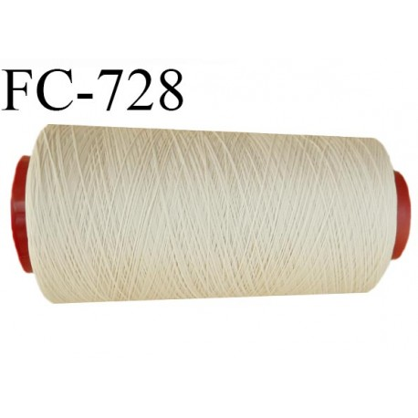 Cone 2000 mètres de fil mousse n°90 polyamide fil super qualité couleur chair clair longueur 2000 m  bobiné en France