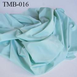 Tissu maillot de bain très haut de gamme largeur 100 cm 220 grs au m2 couleur vert brillant  prix pour 10 centimètres