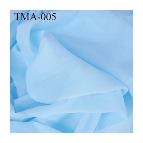 marquisette tulle spécial lingerie haut de gamme couleur bleu ciel largeur 145 cm prix pour 10 cm