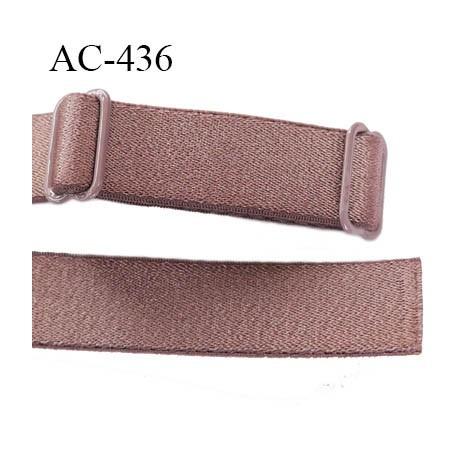 Bretelle 16 mm lingerie SG couleur cuivre laiton laiton brillant haut de gamme finition 2 barettes  prix a la pièce