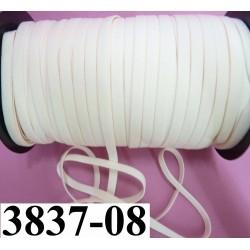 élastique plat largeur 8 mm couleur rose pétale  prix pour 1 mètre de longueur