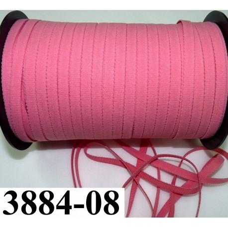 lastique plat largeur 8 mm couleur rose corail prix pour 1 m tre de longueur mercerie extra. Black Bedroom Furniture Sets. Home Design Ideas