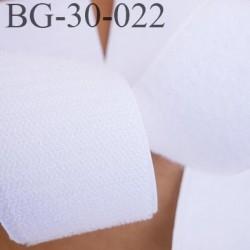 scratch type velcro à coudre couleur blanc largeur 30 mm les 2 faces prix au mètre vous prenez la longueur que vous voulez