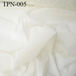 Powernet spécial lingerie extensible dans les deux sens écru haut de gamme largeur 175 cm prix pour 10 cm de longueur