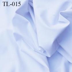 Tissu lycra elasthanne blanc très haut de gamme 240 gr au m2 largeur 154 cm prix pour 10 cm de longueur et 154 cm de large