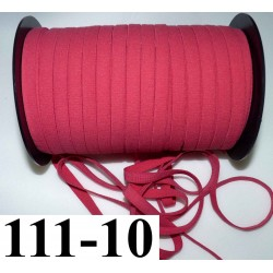 élastique plat largeur 10 mm couleur rose sorbet vendu au mètre