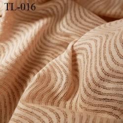 Tissu lingerie couleur chair très haut de gamme largeur 150 cm prix pour 10 centimètres de longueur tissu ajouré