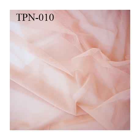 Powernet spécial lingerie extensible dans les deux sens chair rosé haut de gamme largeur 137 cm prix pour 10 cm de longueur