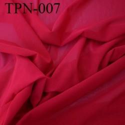 Powernet spécial lingerie extensible  les deux sens couleur rouge rubis haut de gamme largeur 170 cm prix pour 10 cm de longueur