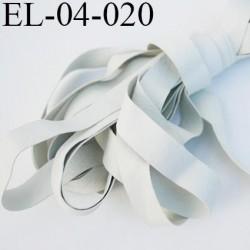 Elastique 4 mm caoutchouc laminette naturel largeur 4 mm x 0.5 mm fabriqué en france très très résistantes couleur gris au mètre