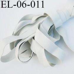 Elastique caoutchouc laminette naturel largeur 6 mm x 0.30 mm fabriqué en france très résistantes couleur blanc gris au mètre