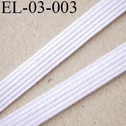 élastique  3 mm  lingerie couleur naturel souple largeur 3 mm prix au mètre
