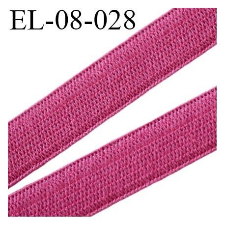 élastique 8 mm plat souple couleur chair clair largeur 8 mm  prix  au mètre