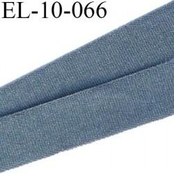 Elastique 10 mm fin spécial lingerie couleur anthracite souple et doux style velours fin largeur 10 mm prix au mètre