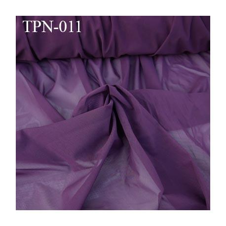 Powernet spécial lingerie extensible  les deux sens couleur prune haut de gamme largeur 160 cm prix pour 10 cm de longueur