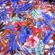 Tissu maillot de bain très haut de gamme couleur toutes couleurs fleurs largeur 145 cm 210 grs au m2 prix pour 10 centimètres