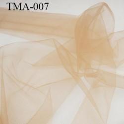 marquisette tulle spécial lingerie haut de gamme couleur chair largeur 140 cm prix pour 10 cm