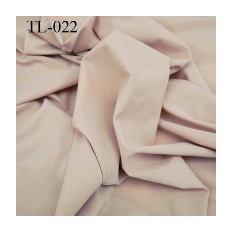 Tissus lycra spécial lingerie fin haut de gamme couleur chair largeur 140 cm poids au mètre carré 140 grs prix pour 10 cm