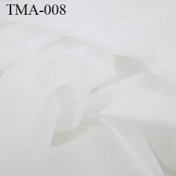 marquisette tulle spécial lingerie haut de gamme couleur écru largeur 150 cm prix pour 10 cm