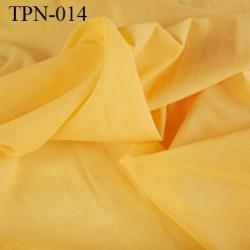 Powernet spécial lingerie extensible  les deux sens couleur jaune haut de gamme largeur 150 cm prix pour 10 cm de longueur