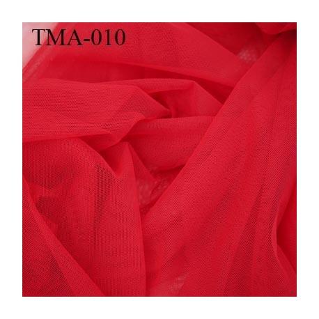 marquisette tulle spécial lingerie haut de gamme couleur rouge largeur 145 cm prix pour 10 cm