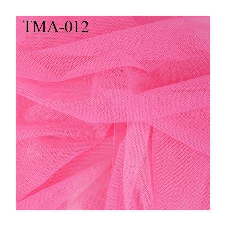 marquisette tulle spécial lingerie haut de gamme couleur rose malabar largeur 150 cm prix pour 10 cm