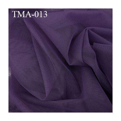 marquisette tulle spécial lingerie haut de gamme couleur nuit ambré ou violet foncé largeur 150 cm prix pour 10 cm