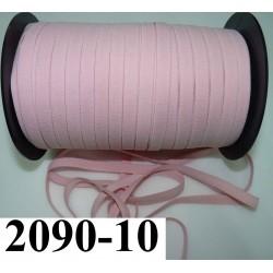 élastique plat largeur 10 mm couleur rose bonbon vendu au mètre