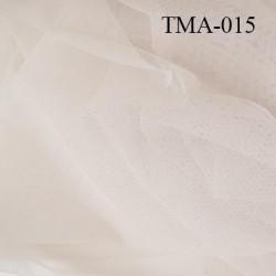 marquisette tulle spécial lingerie haut de gamme couleur étincelle ou marron glacé largeur 150 cm prix pour 10 cm