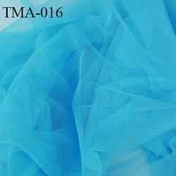 marquisette tulle spécial lingerie haut de gamme couleur bleu turquoise largeur 150 cm prix pour 10 cm