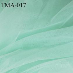 marquisette tulle spécial lingerie haut de gamme couleur vert clair largeur 150 cm prix pour 10 cm