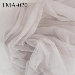 marquisette tulle spécial lingerie haut de gamme couleur gris largeur 145 cm prix pour 10 cm